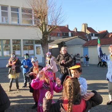 Carnaval à l'école!