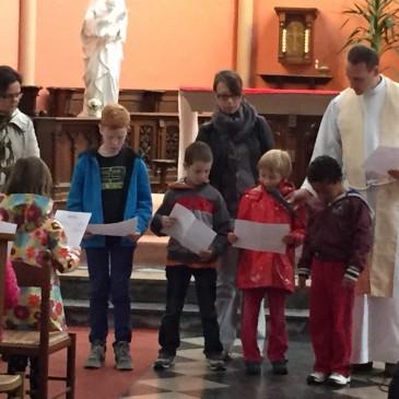Célébration de rentrée : 8 septembre 2015 en l'église Sacré-Coeur